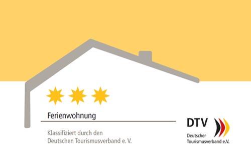 Ferienwohnung Auszeichnung durch den DTV