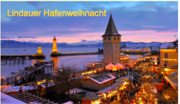 Advent in Lindau im Bodensee