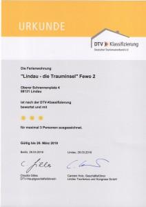 DTV Klassifizierung Lindau die Trauminsel Fewo 2